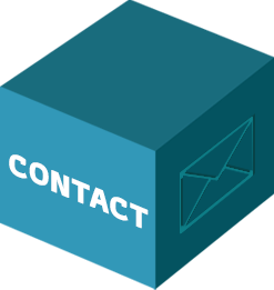 bloc contact de l'agence de communication